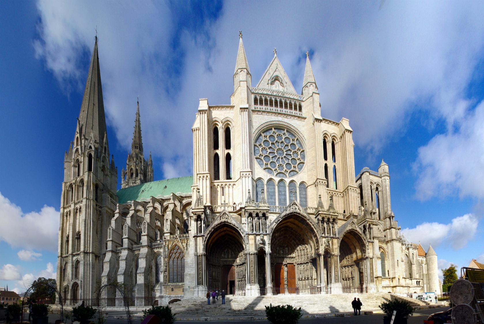 photo Chartres in celebration of 60th anniversary of twinning between Chichester and Chartres